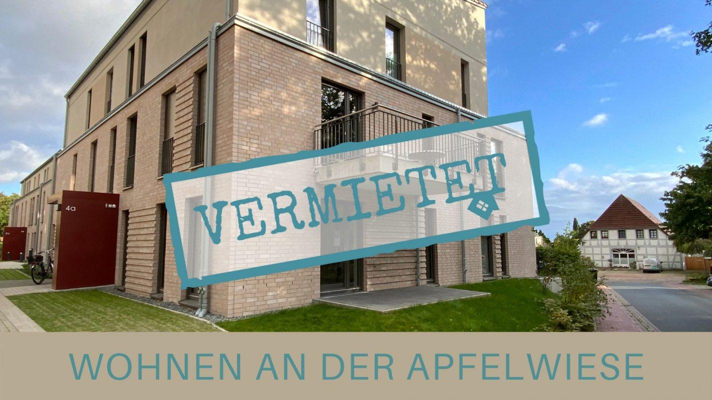 Wohnung an der Apfelwiese Vermietet